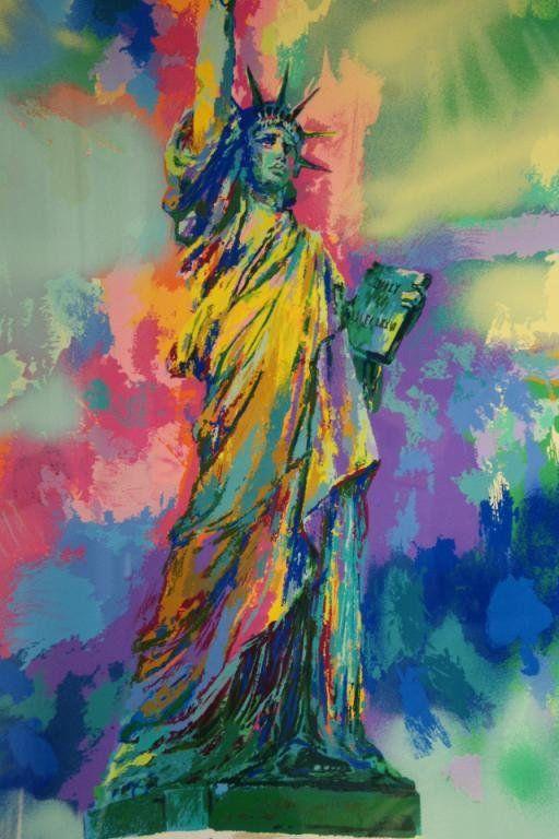 LeRoy Neiman (1921-2012) 13/100 Statue of Liberty