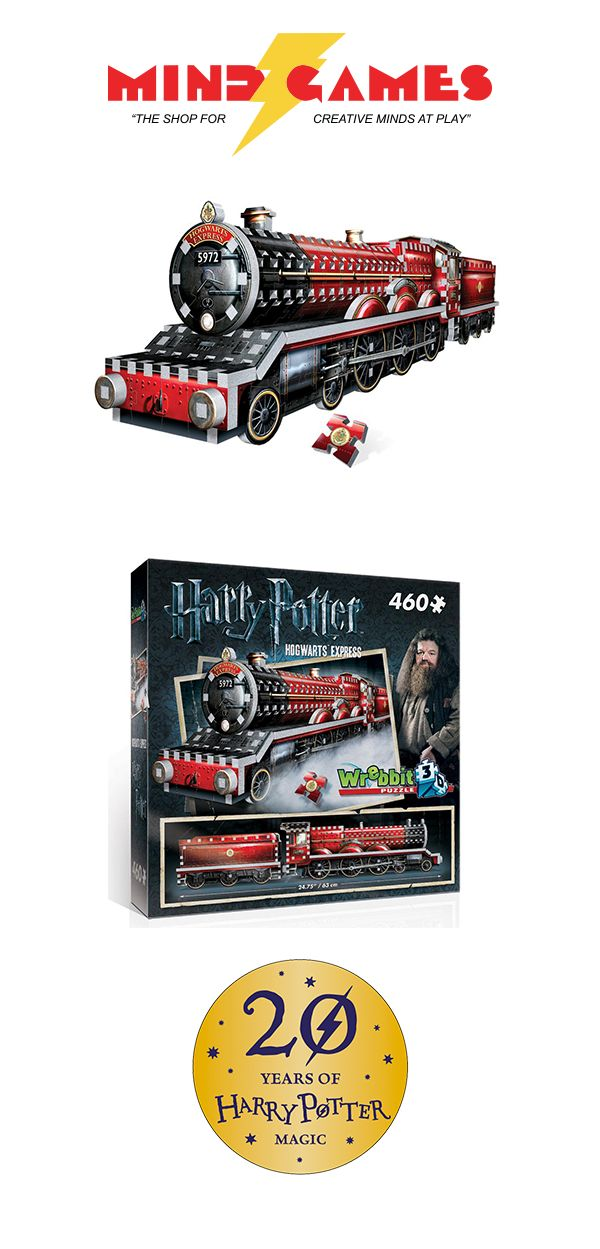 The Harry Potter Hogwarts Express 460-Piece 3D Puzzle is the latest in Wrebbit's stunning Harry Potter 3D Puzzle line that includes other magical Hogwarts locations such as the Great Hall and the Astronomy Tower. Come on, step right this way! The wizarding world of Harry Potter awaits you!  The Harry Potter Hogwarts Express 460-Piece 3D Puzzle is a luxurious 460-piece 3D puzzle of the iconic steam train that brings young witches and wizards to Hogwarts. The Hogwarts Express is a 4-6-0 Hall…