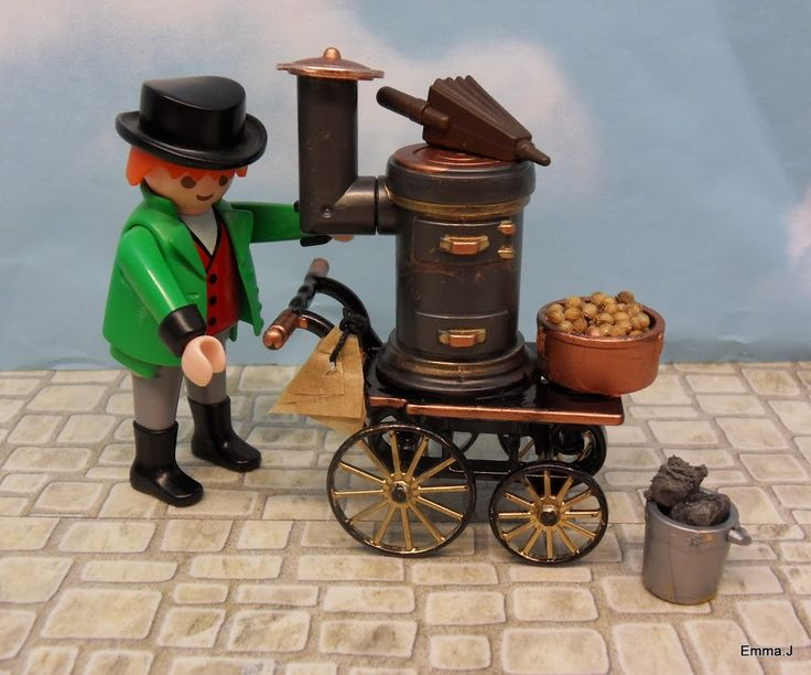 Playmobil By Emma.J Victorian Market Street (40 fotos)