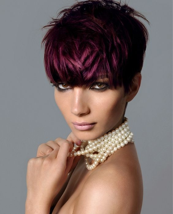 Dark Purple Hair Like This Is Really Cool. #coolhair