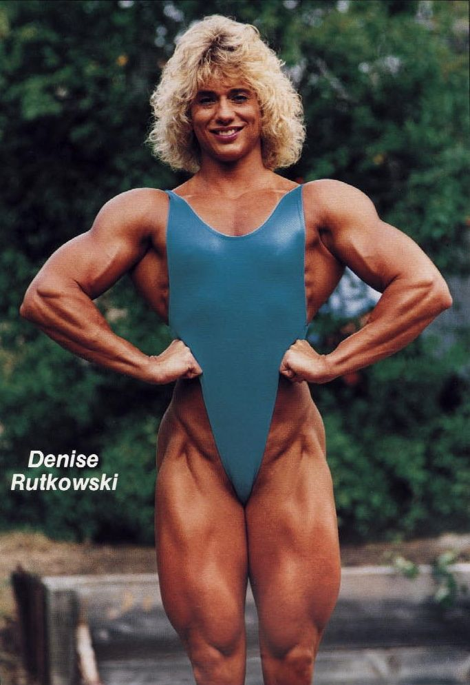 Denise Rutkowski | Fit | Pinterest | Bodybuilder, Body ...