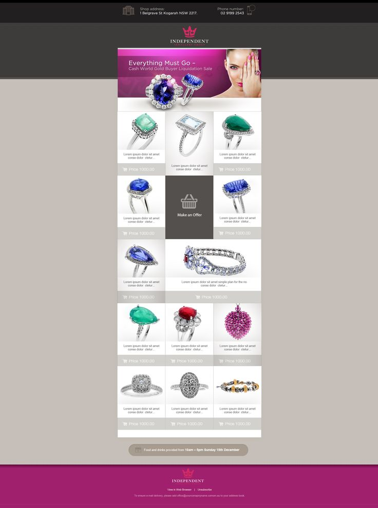 INDEPENDENT JEWELLERY GROUP - NEWSLETTER