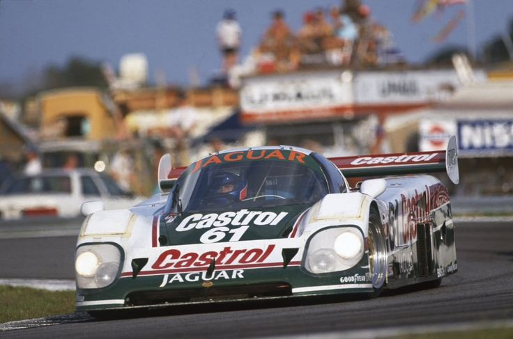 Jan Lammers (pic)/Davy Jones/Andy Wallace, Jaguar XJR-12D, Daytona 24 Hours, 1990.