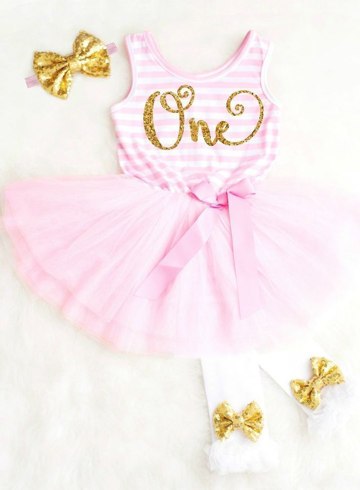 First Birthday Outfit Pink and Gold First Birthday Dress, 1st Birthday Outfit 1st Birthday Dress ADORABLE Baby Girl First Birthday Dress featuring ONE in gold glitter! #firstbirthdayoutfit #firstbirthdaydress #1stbirthdaydress #1stbirthdayoutfit
