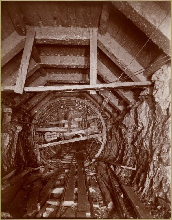 NYC Subway Construction - 1901.