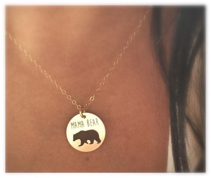 Our most popular necklace this season. You are a force to be reckoned with!    Mama Bear Necklace by TheFeatherPenShop on Etsy $34.99