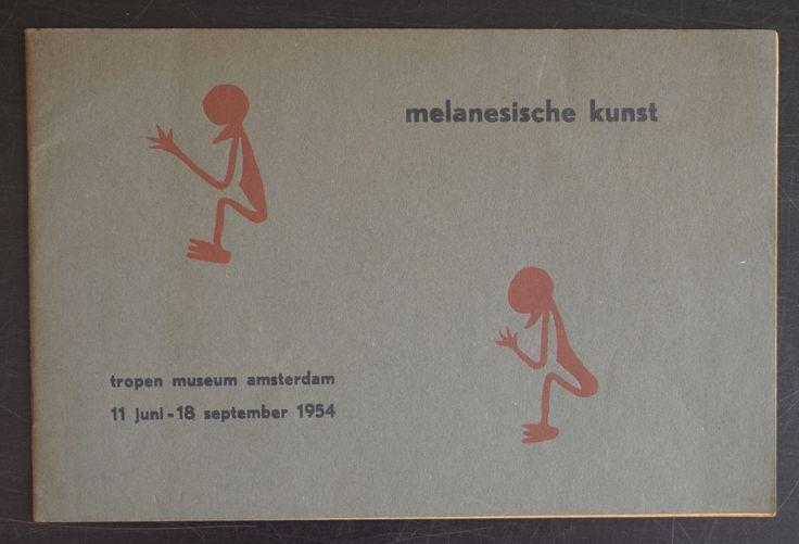 Tropen Museum Amsterdam # MELANISCHE KUNST # 1954, nm