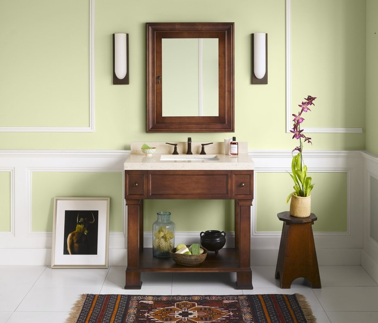 RonBow 063936 Palermo 36 Wood Vanity Cabinet with Bottom Shelf and Two