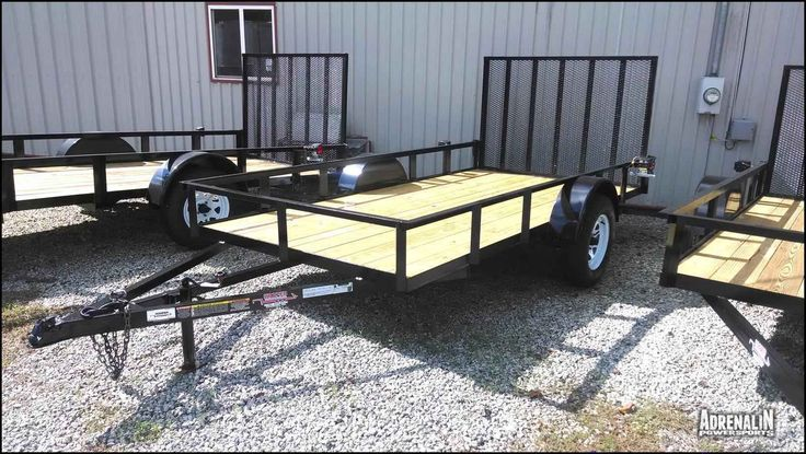 New 2016 Hooper Trailer Sales, Inc Hooper 6 x 12 Utility Trailer ATVs For Sale in Georgia. 2016 Hooper Trailer Sales, Inc Hooper 6 x 12 Utility Trailer, You're looking at Hooper's 6 x 12 Utility Trailer with the following features:* Heavy Duty* 1 - 3500 Lb. Axle* 2500 Lb. L.C.* 4' Mesh Gate* 15' Wheel/Tire upgrade* Treated pine floors upgrade* Flip-up Jack upgradeYour price would be $1,250 + tax = $1,337.50 or an estimated additional $27/mo if financed with an ATV/UTV for 5 years @ 6.99%