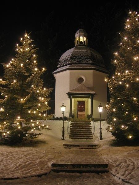 """180 years ago the carol """"Stille Nacht! Heilige Nacht"""" was heard for the first time in a village church in Oberndorf, Austria. The congr..."""