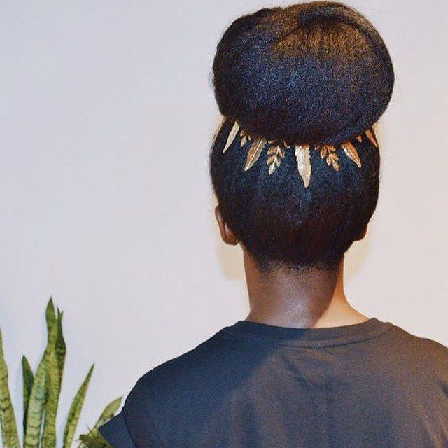 Natural hair accessories