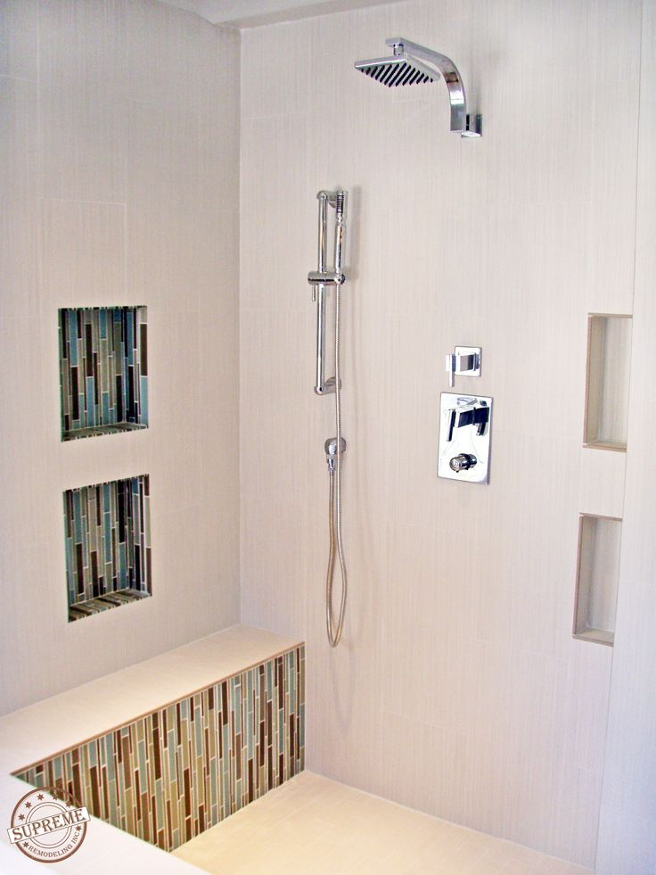How To Retile A Shower Porcelain Tiles Mosaics And White Porcelain Tile