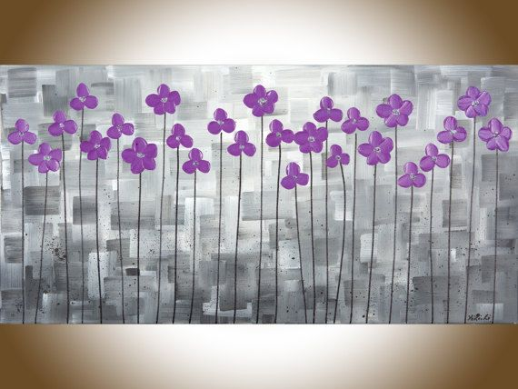 Purple And Gray Wall Art best 25+ grey canvas art ideas on pinterest | blue abstract