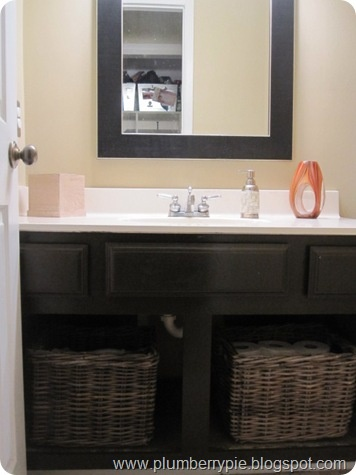 Bathroom Vanity Doors 8 best off with the builder grade vanity doors images on pinterest
