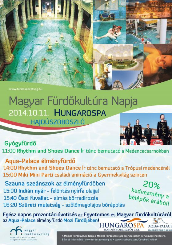 Magyar Fürdőkultúra Napja a Hungarospánál