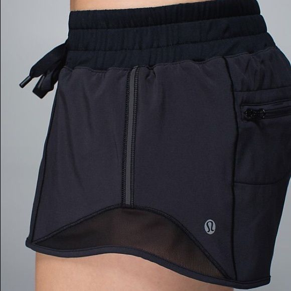 Lululemon - Hotty Hot Short Basically new shorts, worn once or twice. Perfect condition. lululemon athletica Shorts