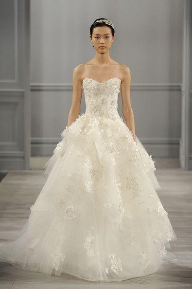 12 best images about monique lhuillier gowns on pinterest for Monique lhuillier brooke wedding dress