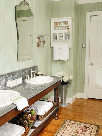 Beaded Board Bathroom Walls