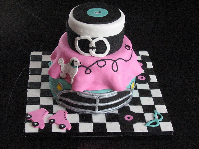 50 S Theme Cake Idea Party Animals 50th Cake Cake