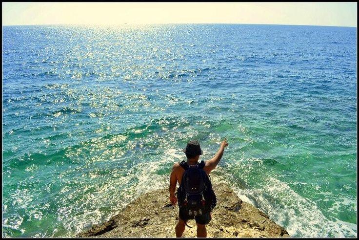 Horizon View #Croatia looking upon Italy