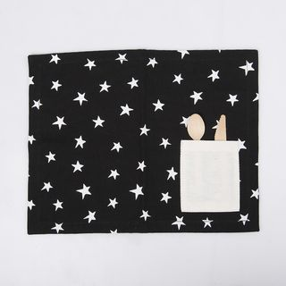 Individual Chalten, negro estrellas blancas