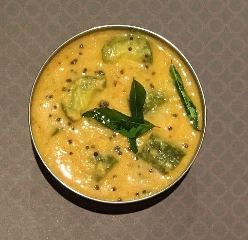 Cucumber Kootu - SpicyTamarind