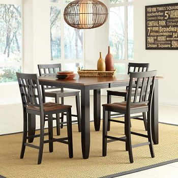 Somerset 5-piece Counter-Height Dining Set