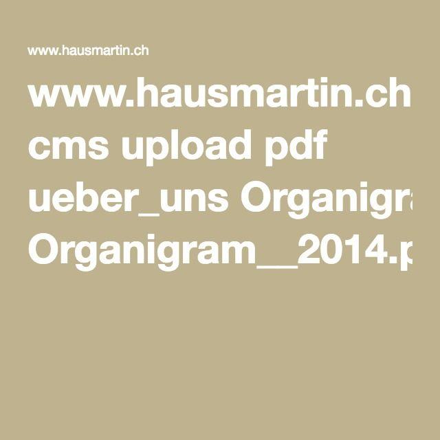 www.hausmartin.ch cms upload pdf ueber_uns Organigram__2014.pdf