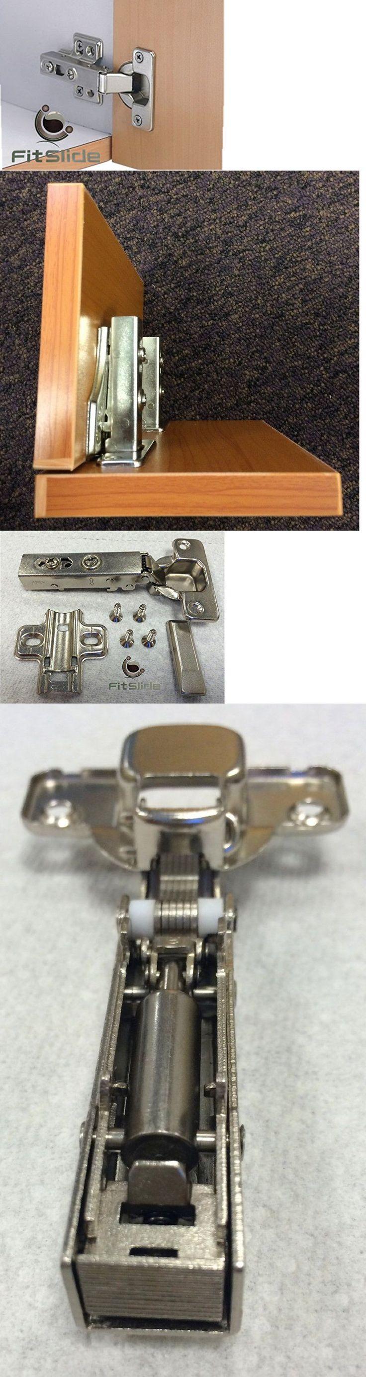 Door Hinges 66739: Fitslide Lot Of 20 E3-0-Ou Soft Close Hinge For Full Overlay Frameless Cabinet -> BUY IT NOW ONLY: $38 on eBay!