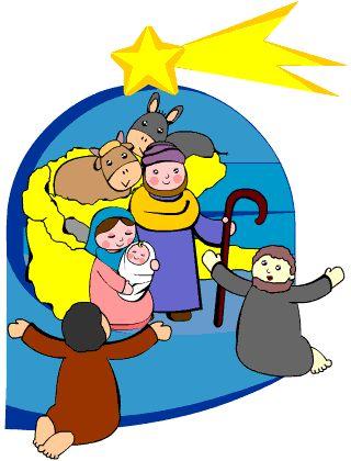 """Favole di Natale - Il Bambino di Betlemme. """"... videro anche nel cielo una stella lucentissima con la coda, la stella cometa. La seguirono e così arrivarono alla stalla, dove trovarono Gesù con Giuseppe e Maria, riscaldati dal fiato del bue e dell'asinello..."""""""