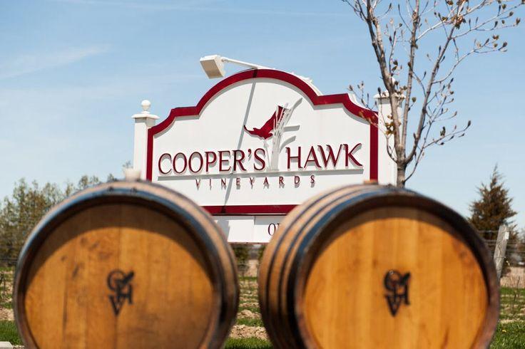 Cooper's Hawk Vineyards™, Vineyard Tours, Wine Tastings, Red Wine, White Wine, Essex County Winery, Ontario