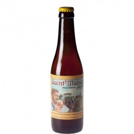 Saint Monon ambrée 33 cl - Bière Belge