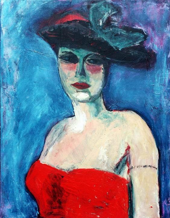 Kees van Dongen - Unknown (Femme en Rouge) ✏✏✏✏✏✏✏✏✏✏✏✏✏✏✏✏  ARTS ET PEINTURES - ARTS AND PAINTINGS  ☞ https://fr.pinterest.com/JeanfbJf/pin-peintres-painters-index/ ══════════════════════  Gᴀʙʏ﹣Fᴇ́ᴇʀɪᴇ BIJOUX  ☞ https://fr.pinterest.com/JeanfbJf/pin-index-bijoux-de-gaby-f%C3%A9erie-par-barbier-j-f/ ✏✏✏✏✏✏✏✏✏✏✏✏✏✏✏✏