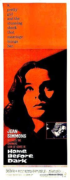 Home Before Dark (1958) - Jean Simmons, Dan O'Herlihy, Rhonda Fleming, Efrem Zimbalist, Jr.