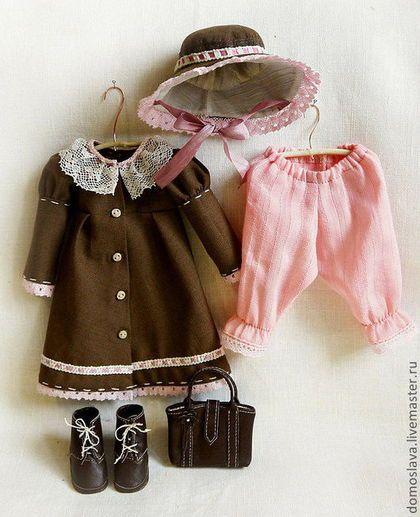 Одежда для кукол ручной работы. Ярмарка Мастеров - ручная работа. Купить Одежда и аксессуары для кукол. Handmade. Одежда для кукол, хлопок
