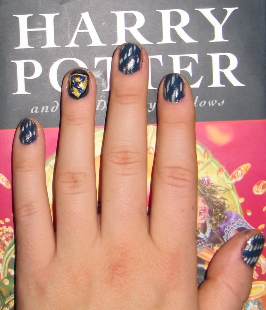 Dahlia Nails Ravenclaw Nail Art: 17 Best Images About Pretty {nails} On Pinterest