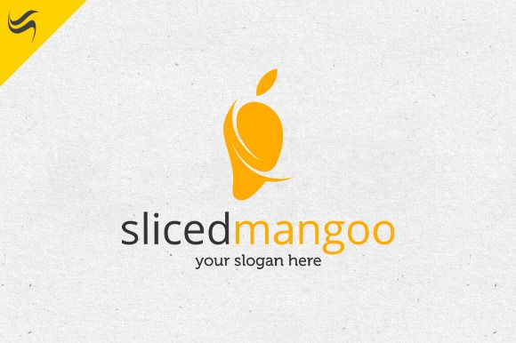 Sliced Mango Logo Template by Kennarock on Creative Market