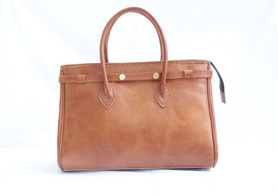 Woman Leather Bag Brown Retro Classic by CoruscateLeatherBag, $210.00