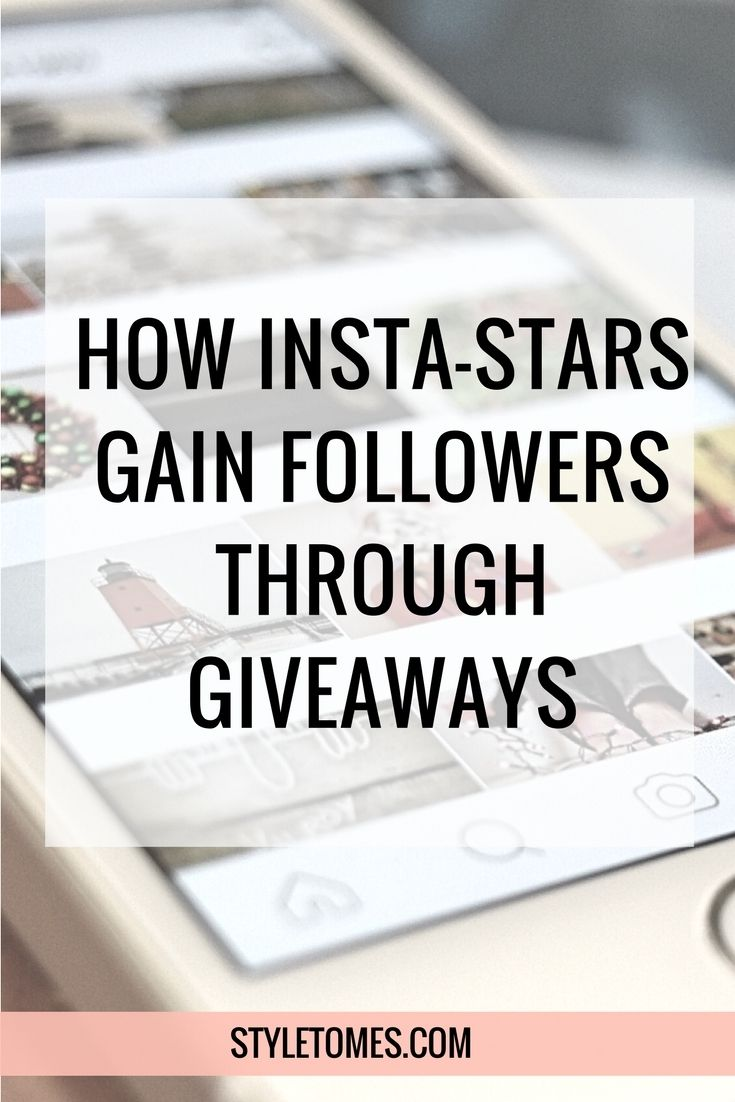 Social Media Strategies: Gain Followers with Instagram Giveaways I participated in a giveaway on Instagram a while back, and wrote them off as too spammy to go through again. Then, as of a few months ago, they became big again. People were growing exponentially, whether or not they had good content. I started to wonder WTF was going on. Cue the 4 Non Blondes song here (the only good one they have- you know what I'm talking about)…