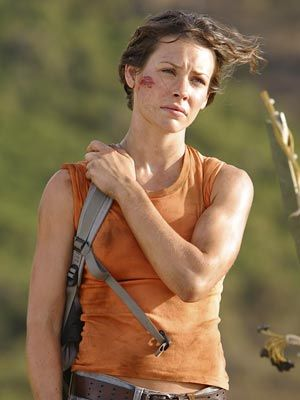 Evangeline Lilly (from lost) I really liked her in that show! did you ? :)