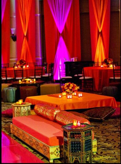 Sangeet, indian wedding decor #indianwedding