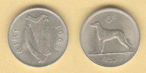 Catalog of Modern Irish Coin Prices 1928-1969