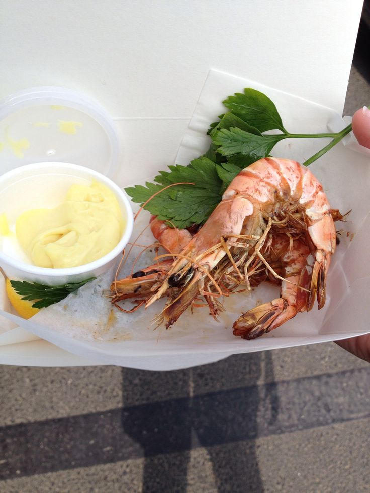 King Prawns from Rick Steins in Padstow. To me prawns are prawns, but these were really good! Can definately recommend :)