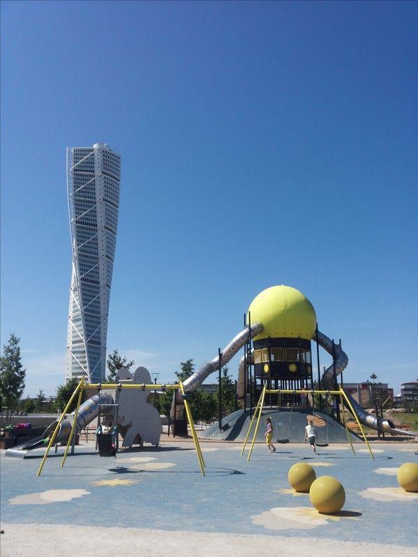 Lekutflykt i Västra hamnen- Malmö