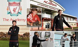 DOMINIC KING: Steven Gerrard's career has come full-circle after he agreed to return to Liverpool on a full-time basis as a coach at the club's academy. Gerrard ended his playing career back in November.