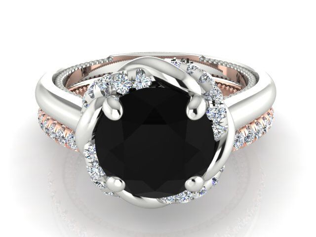 Bohemian Engagement rings set  Elegant Wedding ring set  Black Diamond wedding  ring set Best 25  Black diamond wedding rings ideas on Pinterest   Black  . Hippie Wedding Rings. Home Design Ideas