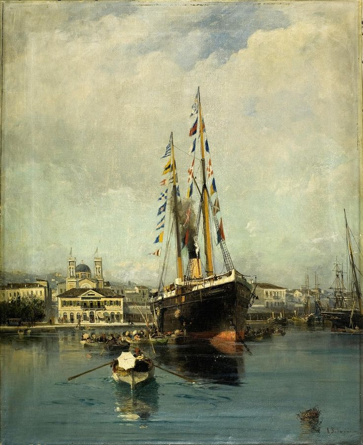 Αναχώρηση από τον Πειραιά (1889)