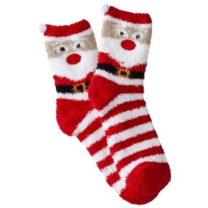 Xhilaration® Juniors Holiday Crew Socks - Assorted Colors/Patterns