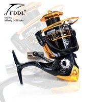 Wish | 13BB 5.2:1 Metal Spool Spinning Fishing Reel DQ2000/3000/4000 Feeder and Carp Fishing Wheel Fishing Gear Tackle