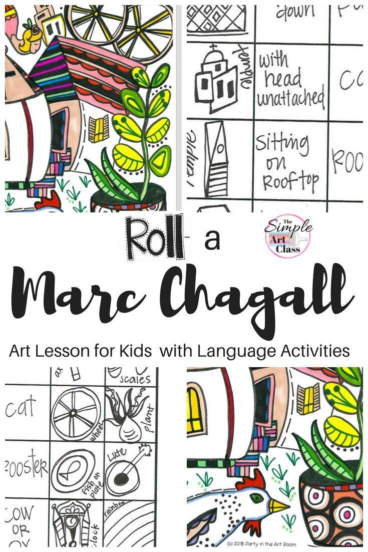 Art Lesson Marc Chagall Art Game